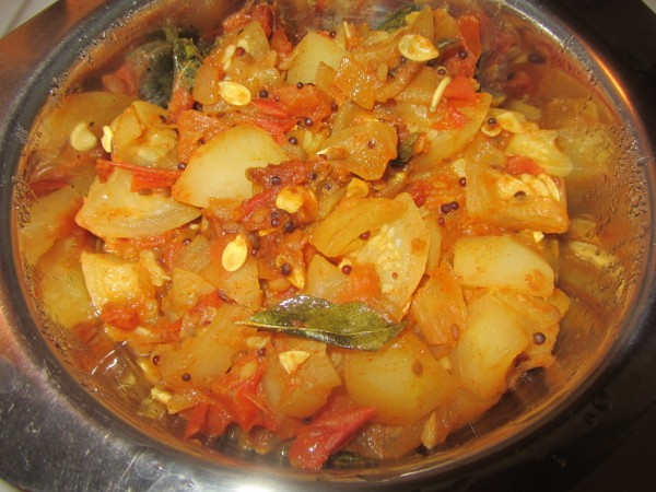 05272012 - Punjabi Tinda Curry