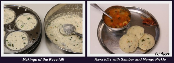 Rava Idli from Scratch