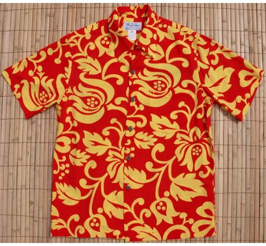 гавайская рубашка из вискозы