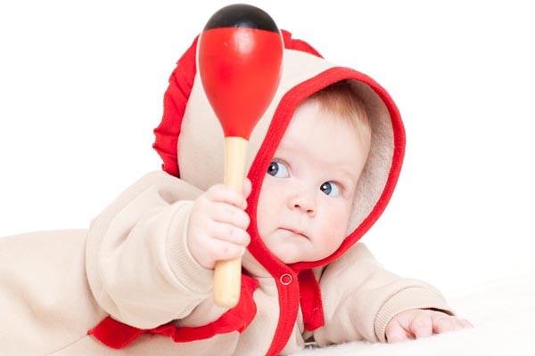 Погремушки не всегда были игрушками: в старину они служили оружием против злых духов