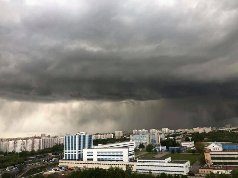Вид на МЗП из микрорайона Сабурово, в нижнем левом углу виден участок работ по ЮВХ