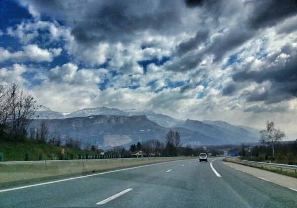 From Lyon to Grenoble
