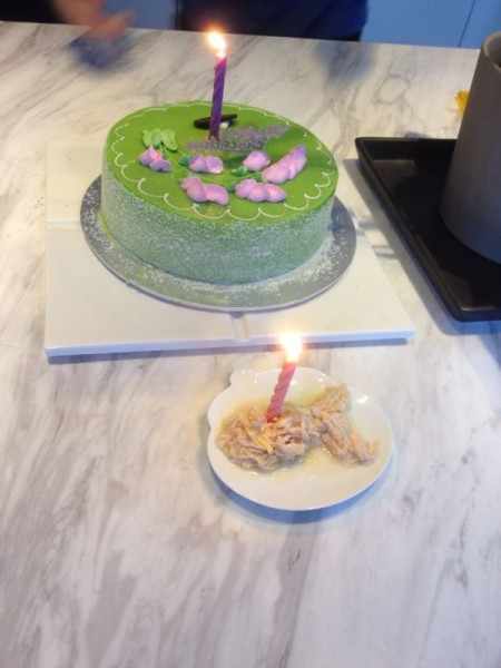 Tigger's Birthday Cakes