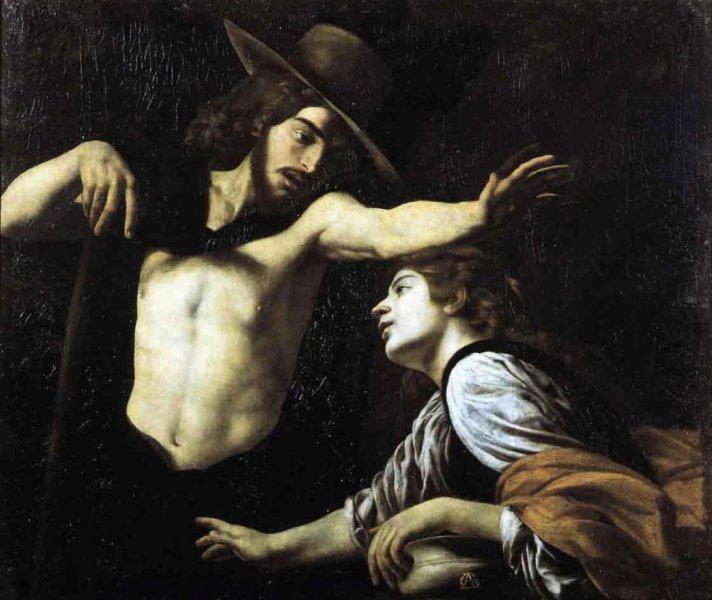 Caracciolo Giovanni Battista, Battistello. не прикасайся 1620