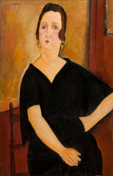 Woman with Cigarette) 1918.jpg