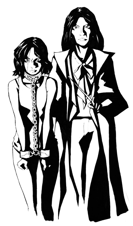 Alexandra and Diana Grimm