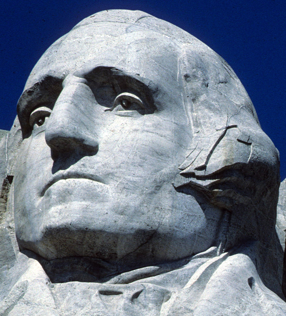 Washington on Mount Rushmore