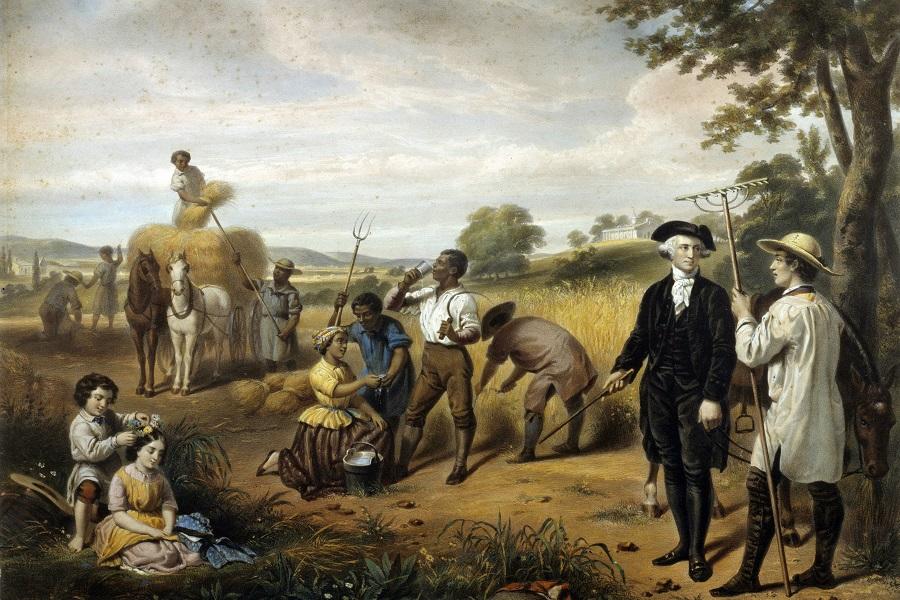 Washington and his slaves