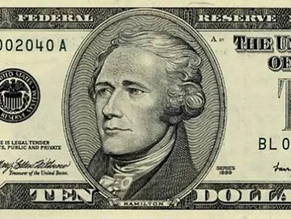 Hamilton 10$ bill