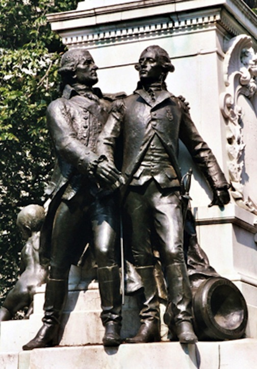 Alexander Hamilton and John Laurens