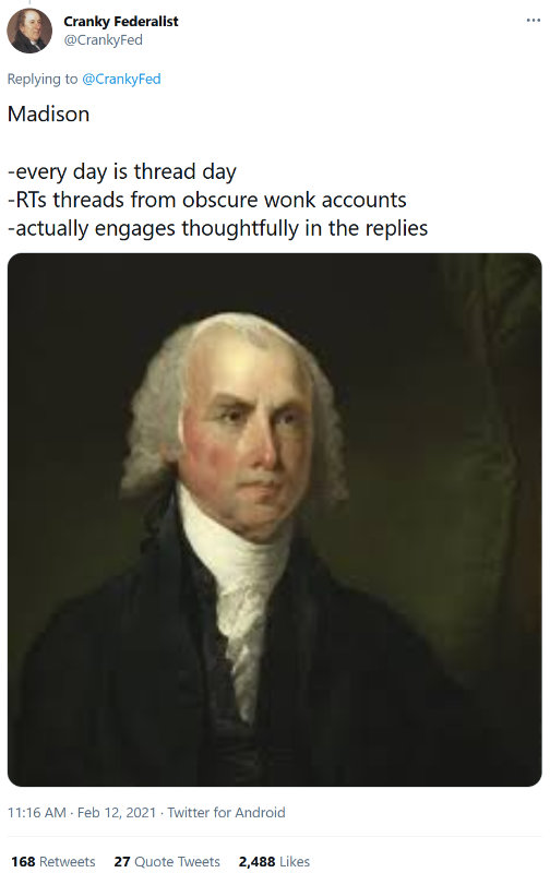 Madison on Twitter
