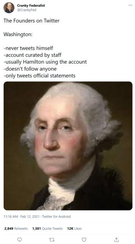 Washington on Twitter