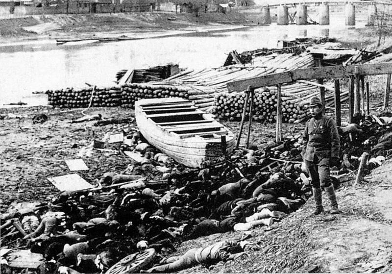 Nanking Bodies by river