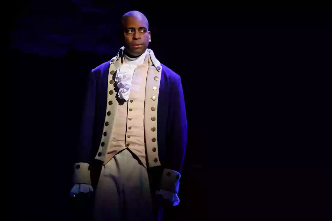Daniel Breaker as Aaron Burr