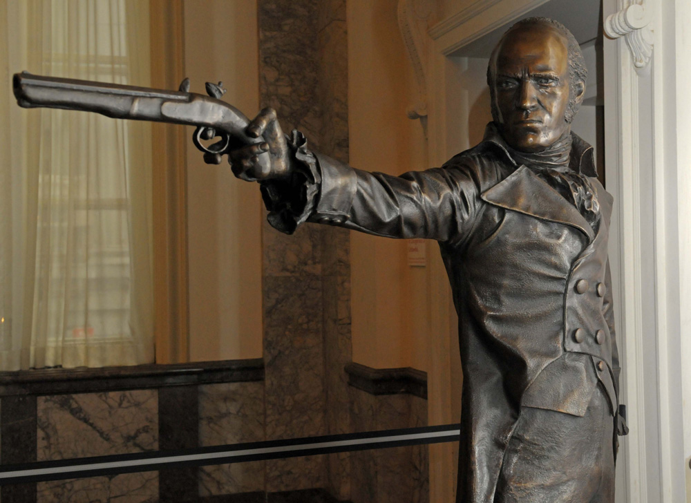Statue of Aaron Burr