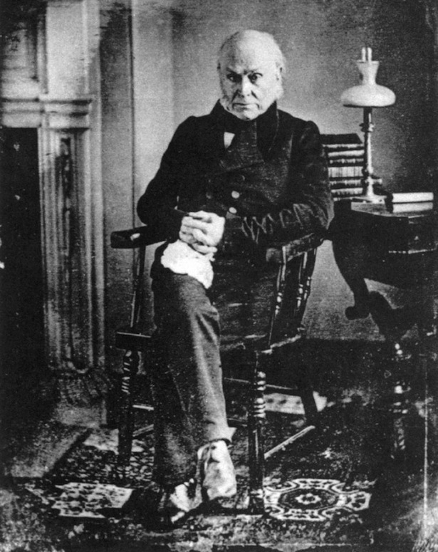 Daguerreotype of John Quincy Adams (1843)
