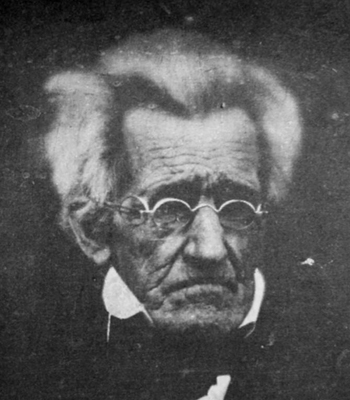 Andrew Jackson just before his death