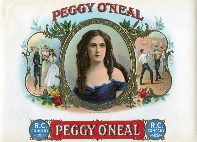 Peggy O'Neal Cigar Box