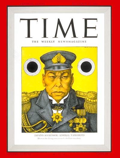 Admiral Yamamoto (Time Magazine)
