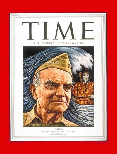 Admiral Halsey (Time Magazine)