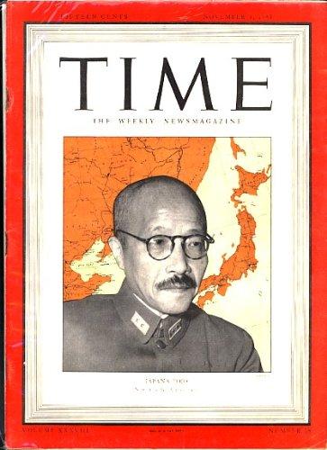 Hideki Tojo (Time Magazine)