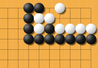 Kageyama, problem 1: black to kill