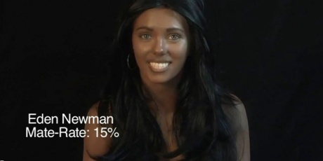 Yes, this a girl in blackface