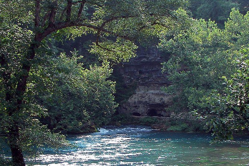Ozark river