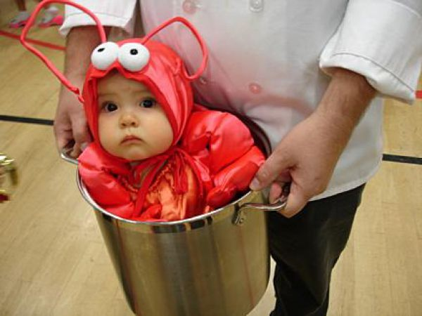 Boiled baby