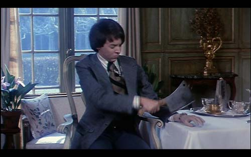 Harold and Maude - chopping