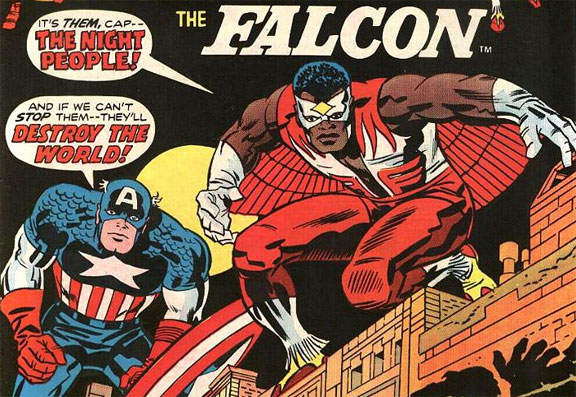 Cap and the Falcon