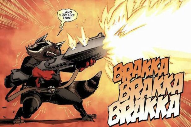 Rocket Raccoon Brakka-Brakka-Brakka