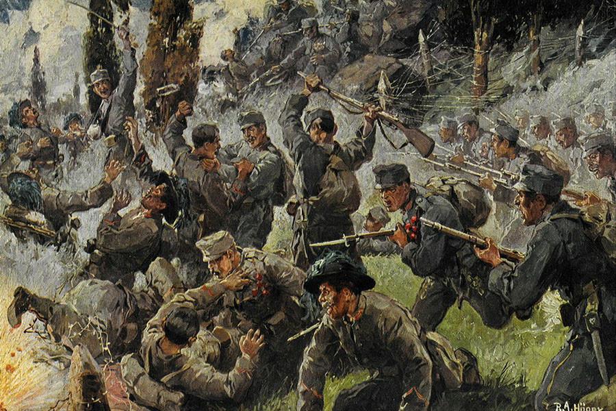 world war 1 and 2 essays