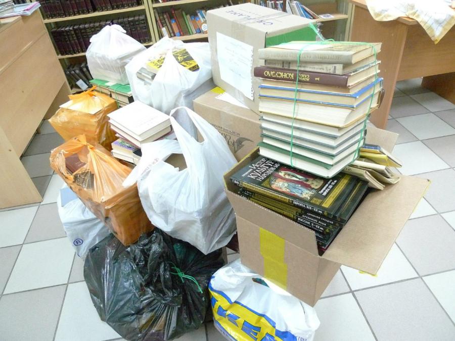 Сбор книг в библиотеках
