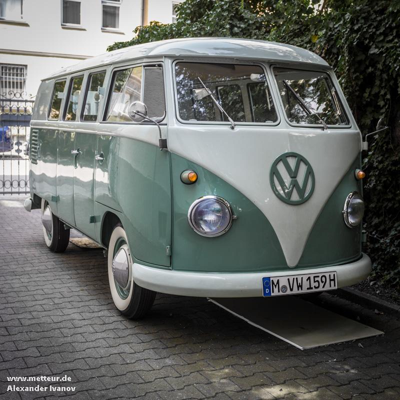 VW Typ 2 на улице Мюнхена