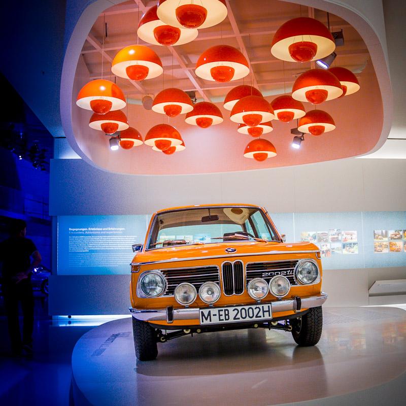 BMW 2002 из коллекции музея БМВ. Фото Мюнхена: Александр Иванов