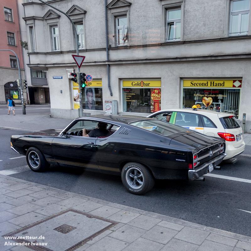 Ford Torino на улице Мюнхена. Фото: Александр Иванов
