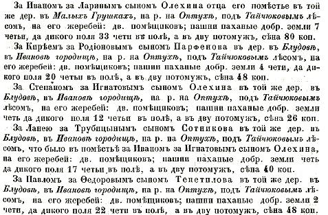 9 Тайчуков стан..Иваново городище (Блудово) – гор. Черемисино. На р. Оптухе