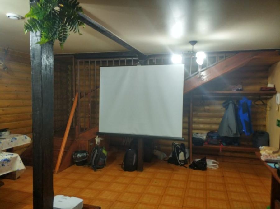 Зрительный зал еще не заполнен зрителями. Премьера фильма Чалка! (2018, 8 декабря, Фанзел Хазипов)