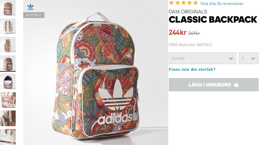adidas backpack 2017
