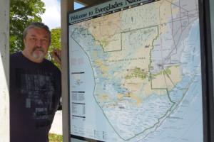 Карта Эверглейдс