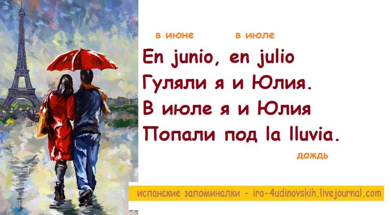 дождь по-испански