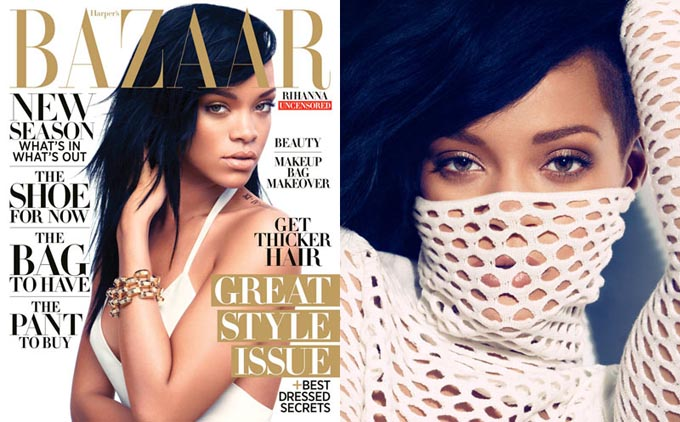 Rihanna by Camilla Akrans