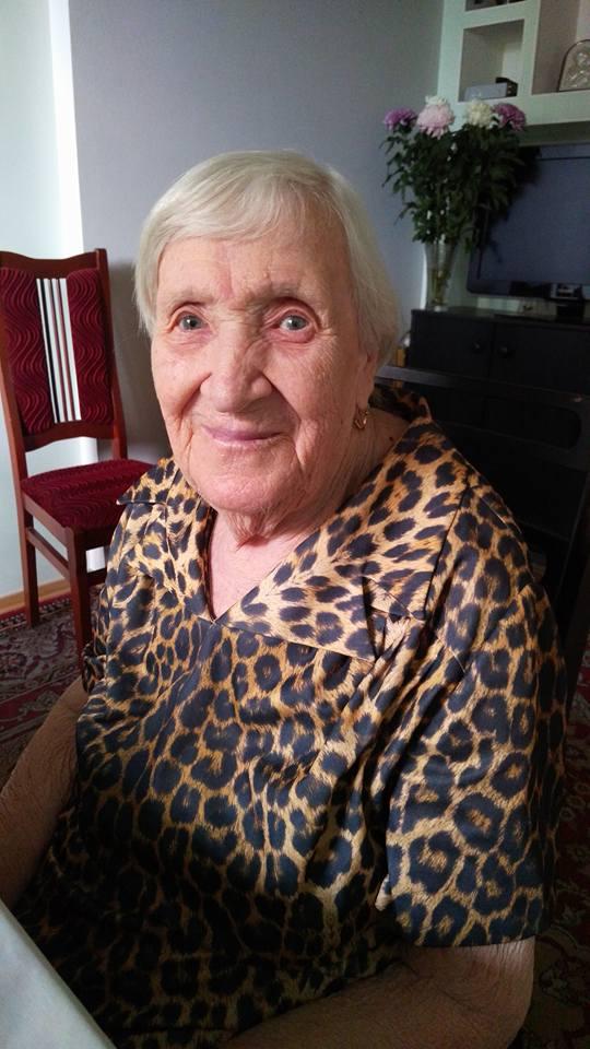 Бабуля в леопардовом