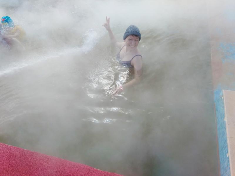 Некогда мерзнуть, ааайда купаться!!!!