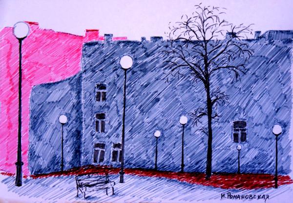 Питерские дворики
