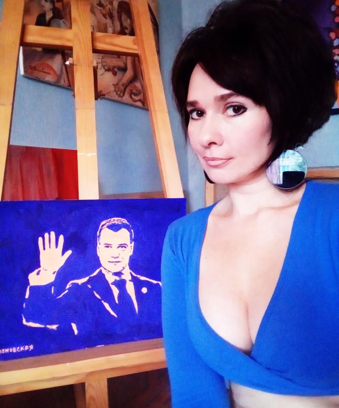 Медведев учитель-бизнесмен