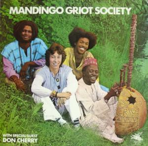 Mandingo Griot front