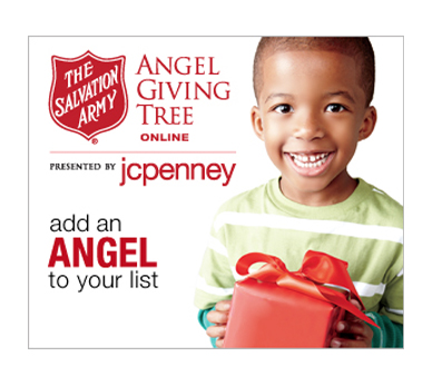 Angel Giving Tree Presented by jcpenny