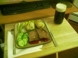 Приятный легкий ужин